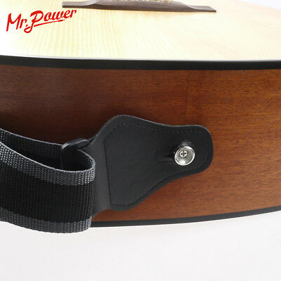 Guitar Strap Nylon Guitar Pick Holder with 3 Picks for Electric Acoustic Guitar 6