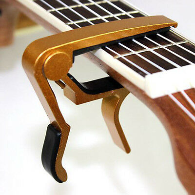 Change Key Capo Clamp for Electric Acoustic Guitar Quick Trigger Release ddl 3