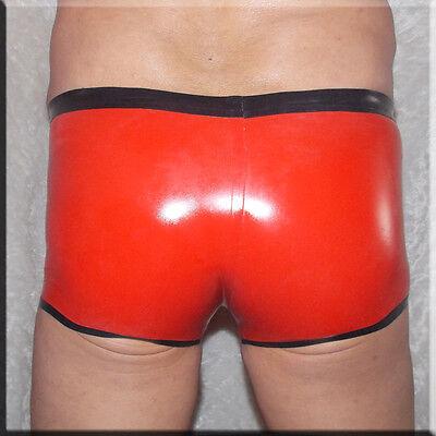 Latex String - Slip extra heiß -TOP - Silber mit schwarzem Rand Size :XL (154) 3