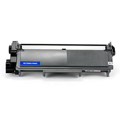 2PK Toner for Brother TN660 HL-L2340DW HL-L2360DW HLL2380DW MFCL2680W MFCL2740DW 3