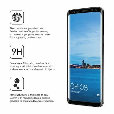 For Samsung Galaxy S10e S10+ Plus 9H Full Cover Tempered Glass Screen Protector 10