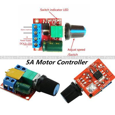 DC 3V-35V 5V-35V 5A Mini Motor PWM Speed Control Switch LED Dimmer Controller 2