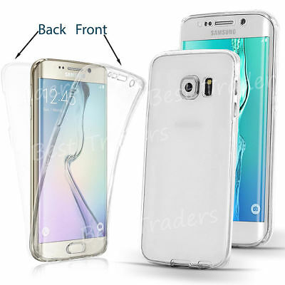 New ShockProof Hybrid 360 TPU Case Cover For Samsung Galaxy S7 edge S8 S9 Plus 2