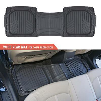 Waterproof TriFlex Rubber Floor Mats for Car Van SUVs Truck w/ Rear Liner Black 4
