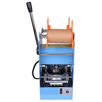 Manual Cup Sealer Sealing Machine 300W Coffee Boba Bubble Tea 300 500 Cups/hr