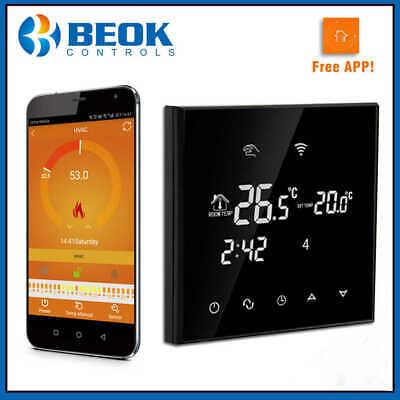 CronoTermostato WIFI regolabile Settimanale Temperatura Caldaia gas Touch Screen 7