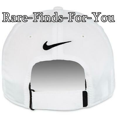 Disney Parks Nike Dri Fit Mickey Mouse White Grey Golf Baseball Cap Hat NEW/TAGS 10