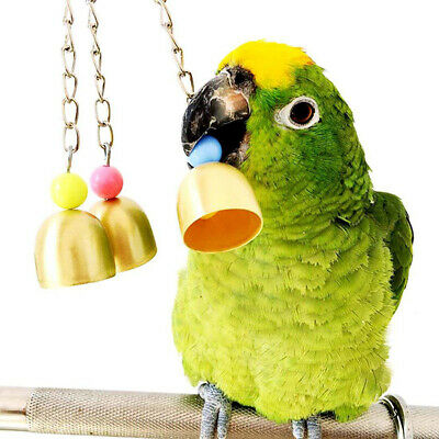 7 Pack Beaks Metal Rope Small Parrot Budgie Cockatiel Cage Bird Toys  New 2