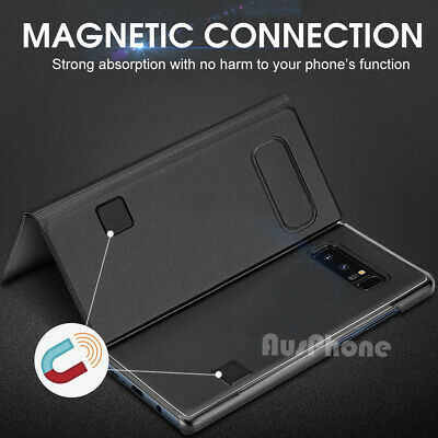 Mirror Shockproof Flip Case Cover  For Samsung Galaxy S10 Note 10 9 S9 S8 Plus 7