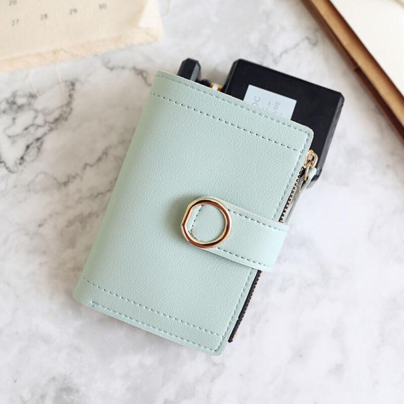 Fashion Women Ladies Leather Purse Money Clip Wallet Clutch Card Bag Holder Gift 9