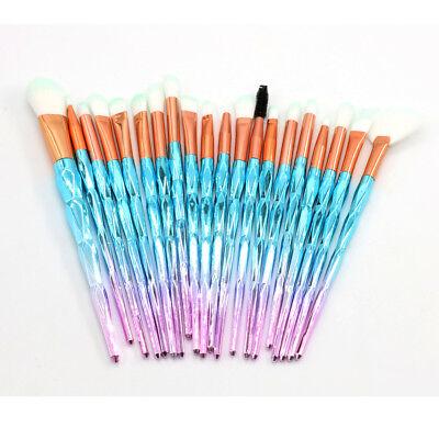 Professional Make up Brushes Set Eye Shadow Eyebrow Makeup Kit Cosmetic Tools UK 3
