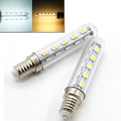2X E14 3W 2.5W 1.5W LED Light Cooker Hood Chimmey Fridge Bulb White Warm White 4