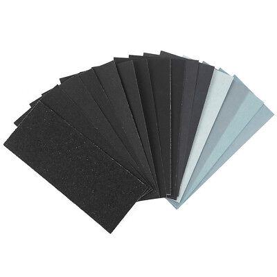 9*23cm 150-8000 Grit Dry Wet Sandpaper Abrasive Sand Paper Sanding Sheet 2/10Pcs 2