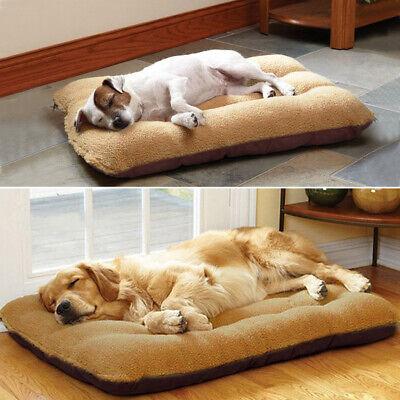 Large Pet Bed Mattress Dog Cushion Pillow Mat Washable Soft Winter Warm Blanket 7