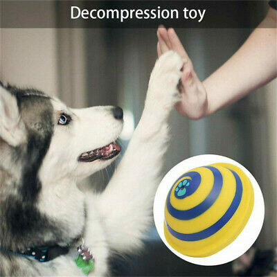 For Woof Glider Squeaky Dog Toy Sounding Disc Safe Fun Play All Dog Training UK 6