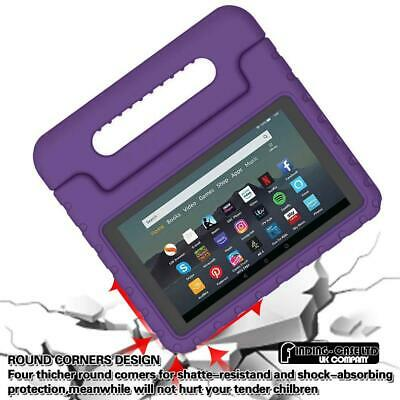 """For Amazon Fire 7"""" HD 8"""" Tablet ShockProof EVA Handle Kids Stand Cover Case +Pen 3"""