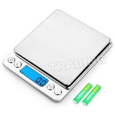 0.01-500g Kitchen Food Scale Digital LCD Electronic Balance Weight Postal Scales 2