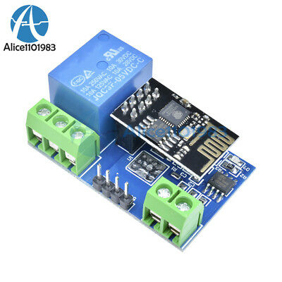 ESP8266 5V WIFI Relay Module TOI APP Controled For Smart Home Automation  Board
