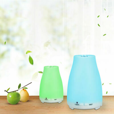 Aroma Aromatherapy Diffuser LED Essential Oil Ultrasonic Air Humidifier Purifier 12