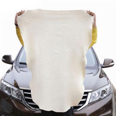 pelle di Daino Naturale Auto Panni per pulizia lavaggio scamosciata ASSORBENTE 3