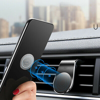 Phone Holder Clip Car Air Vent Magnetic Bracket for Mobile Phone GPS Accessories 7