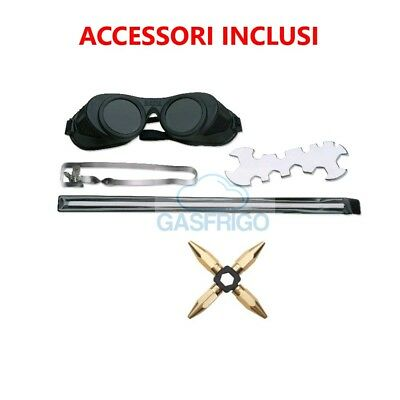Kit Cannello Saldatura Turbo Set 110 Ossigeno / Map Saldatura Barrette 3