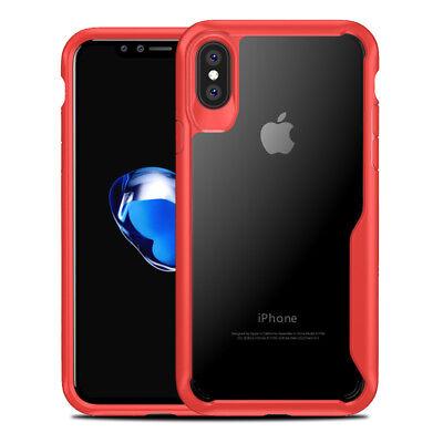Coque Housse Protection Pour iPhone X/6/6S/Plus/7/8 XR XS MAX Rigide Antichoc 2