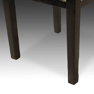 Antique Chinese Qing Side Table Lacquered Elm Wood Furniture China 19Th C. 5