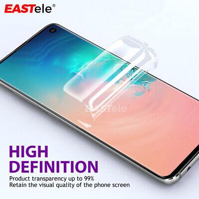 EASTele Samsung Galaxy S10 S9 S8 Plus Note 9 HYDROGEL AQUA Full Screen Protector 3