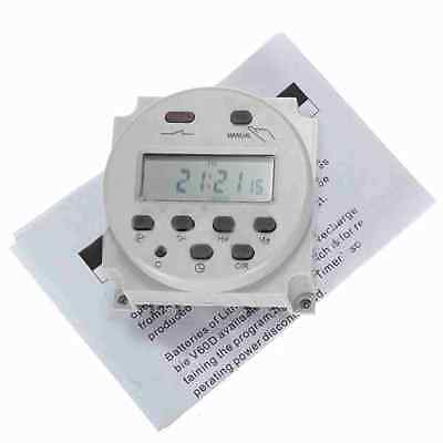 DC 12V 16A Mini LCD Digital Programmable Control Power Timer Switch Time Relay 4