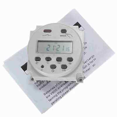 Mini LCD Digital Programmable Control Power Timer Switch Time Relay DC 12V16A Kj 4