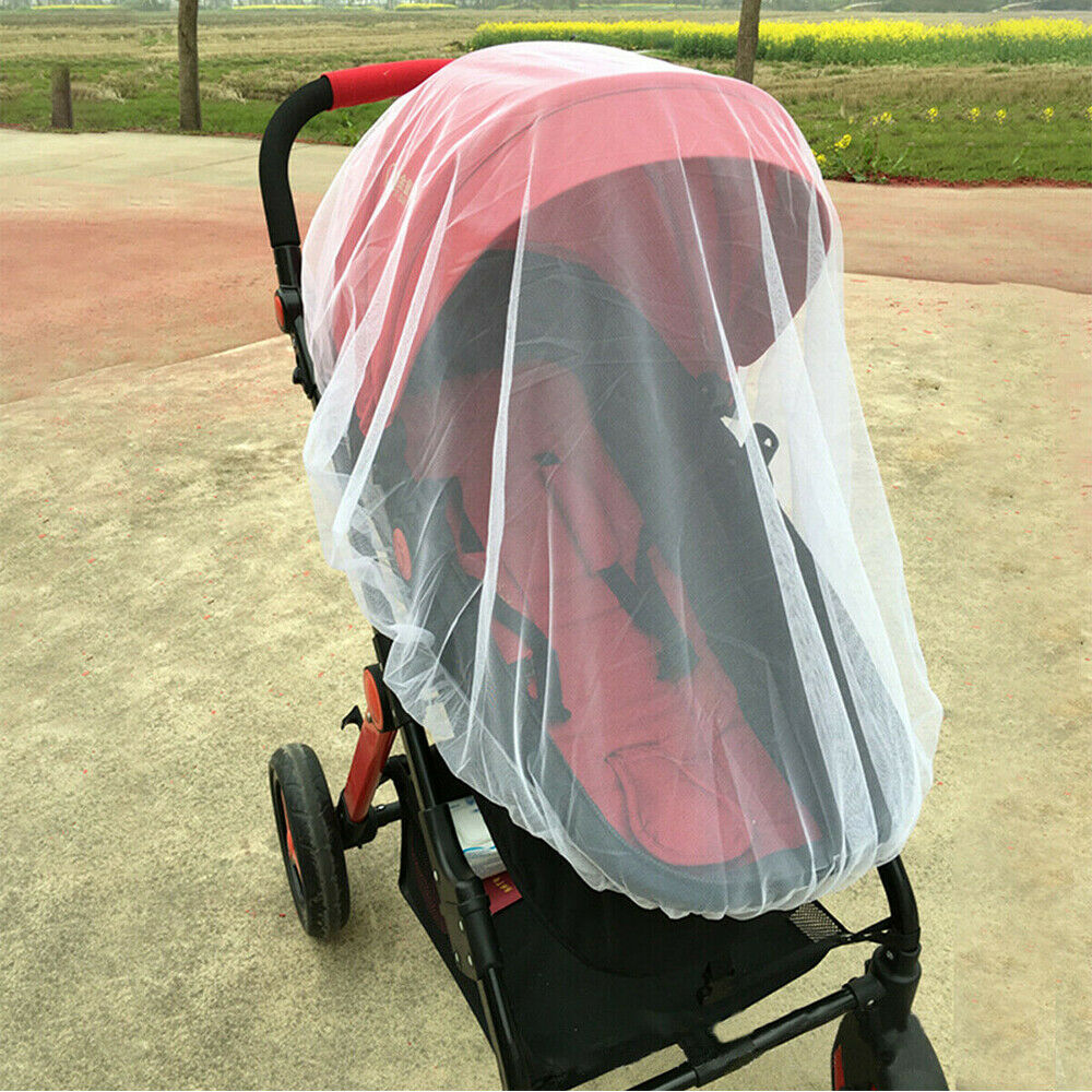 Anti Mosquito Fly Insect Net Mesh Buggy Cover For Stroller Pushchair Pram Hot 6