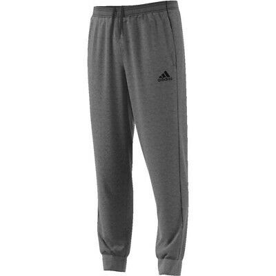 Adidas Core 18 Mens Fleece Tracksuit Jogging Bottoms Joggers Black Navy Grey 3
