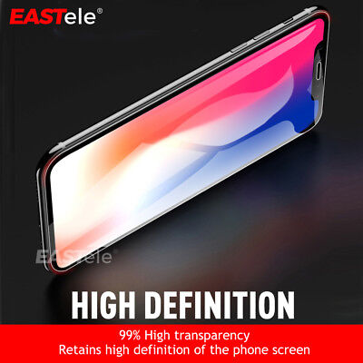 EASTele HYDROGEL AQUA FLEX Screen Protector Apple iPhone XS Max XR X 8 7 6s Plus 2