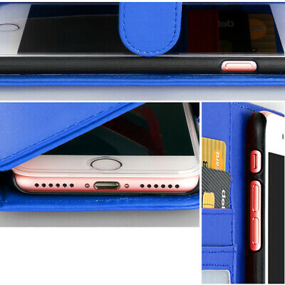 For iPhone 11 Pro XS MAX XR 8 7 Plus 6s Wallet Magnetic Flip Leather Case Cover 12