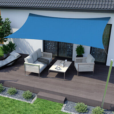 3.6m x 3.6m x 3.6m Shade Sail Water Resistant Sun Canopy Patio Garden Variation