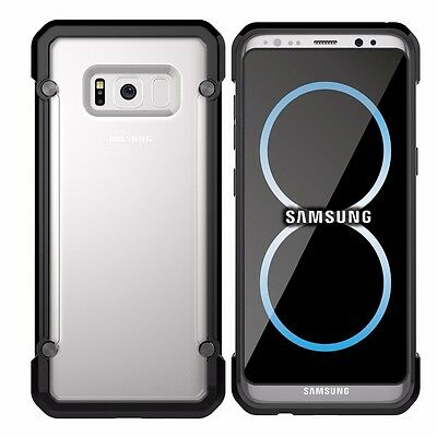 For Samsung Galaxy S8+ Plus Case Hybrid TPU ShockProof Protective Rugged Cover 8