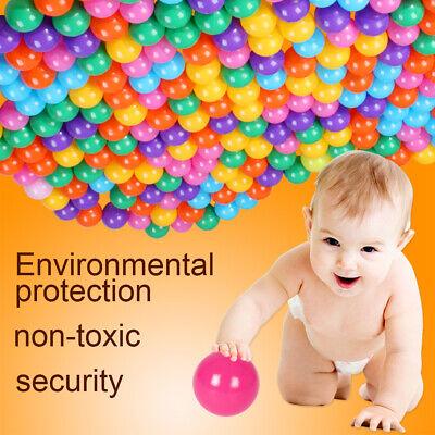 50-500PCS Plastic Pit Balls For Children Ball Kids Multi Coloured Toys Play Pool 3