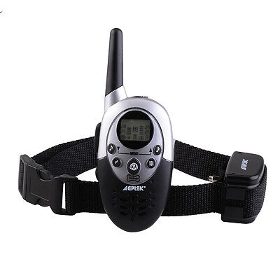 1000Yard Waterproof Shock Vibrate Remote Training Collar for Large Med Small Dog 3