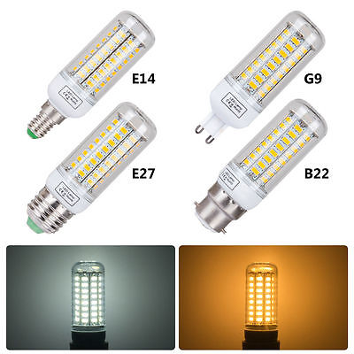 E27 E14 B22 G9 LED Maïs Ampoule 3W6W9W12W15W 5730SMD Blanc Chaud/Froid Lamp 220V 2