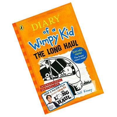 The Long Haul By Jeff Kinney Diary of a Wimpy Kid book and Children's book 3