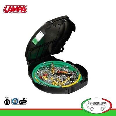 Catene da neve 245//50r18 245 50 18 da 9mm Lampa R9 Omologate Gruppo 14-16080