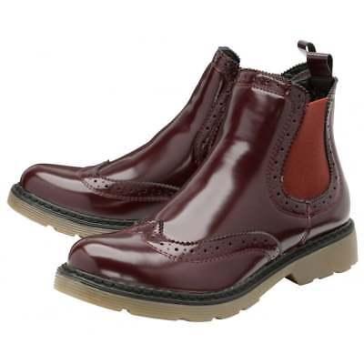 British Footwear Ladies Dolcis Doctor Chelsea Memory Foam Pull On Ankle Boot 2