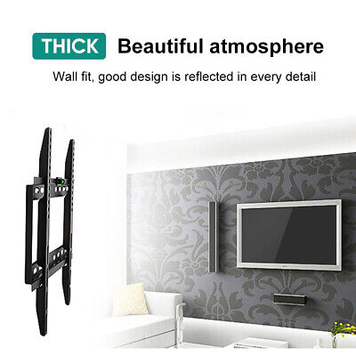 "TV Wall Mount Bracket Tilt Swivel Flat Slim Plasma LCD LED 14-70"" inch Universal 9"
