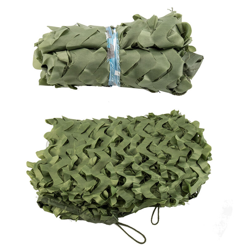 Camo Net Camouflage Netting Hunting Shooting Hide Glare Proof Nets Hide Army CA 10
