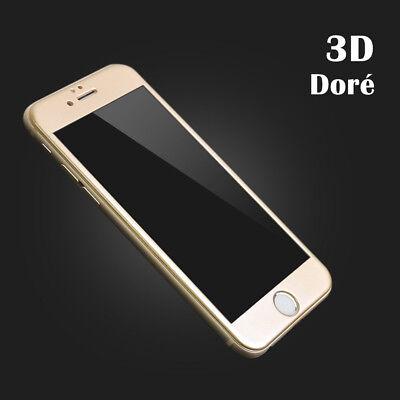 VITRE VERRE TREMPE 3d Film protection écran tactile iPhone X/S/MAX/8/7/6/Plus XR 6