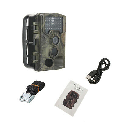 UK 16MP Hunting Trail Camera HD 1080P Wildlife Scouting Cam Night Vision IP65 11
