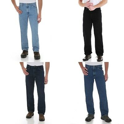 New Wrangler Five Star Regular Fit Jeans Men's Sizes Five Colors Free Shipping 4