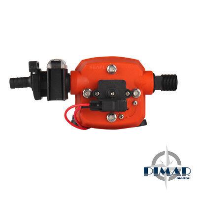 Pompa Autoclave Barca Camper  - Nautica 12V 12.5 / 17.00 Lit/Min + Pressostato 3
