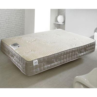 Happy Beds Bamboo Vitality 2000 Pocket Sprung Mattress Handmade Memory Foam 2